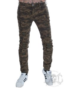 Sixth June Scratched Camo Pants