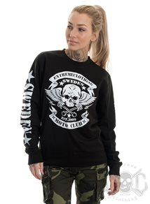 eXc Moto Club Sweatshirt Unisex, Black