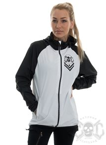eXc Logo Runner Jacket Unisex, Black N White